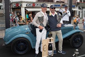 Coppa d'Oro delle Dolomiti 2017: Belometti su Fiat 508 Spider Sport del 1932 vince l'edizione dei 70 anni