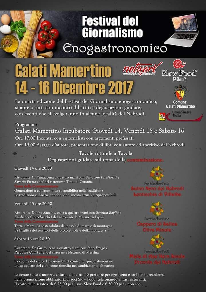 """Lo chef eoliano, Emiliano Cipicchia  al """"Festival del giornalismo enogastronomico"""""""