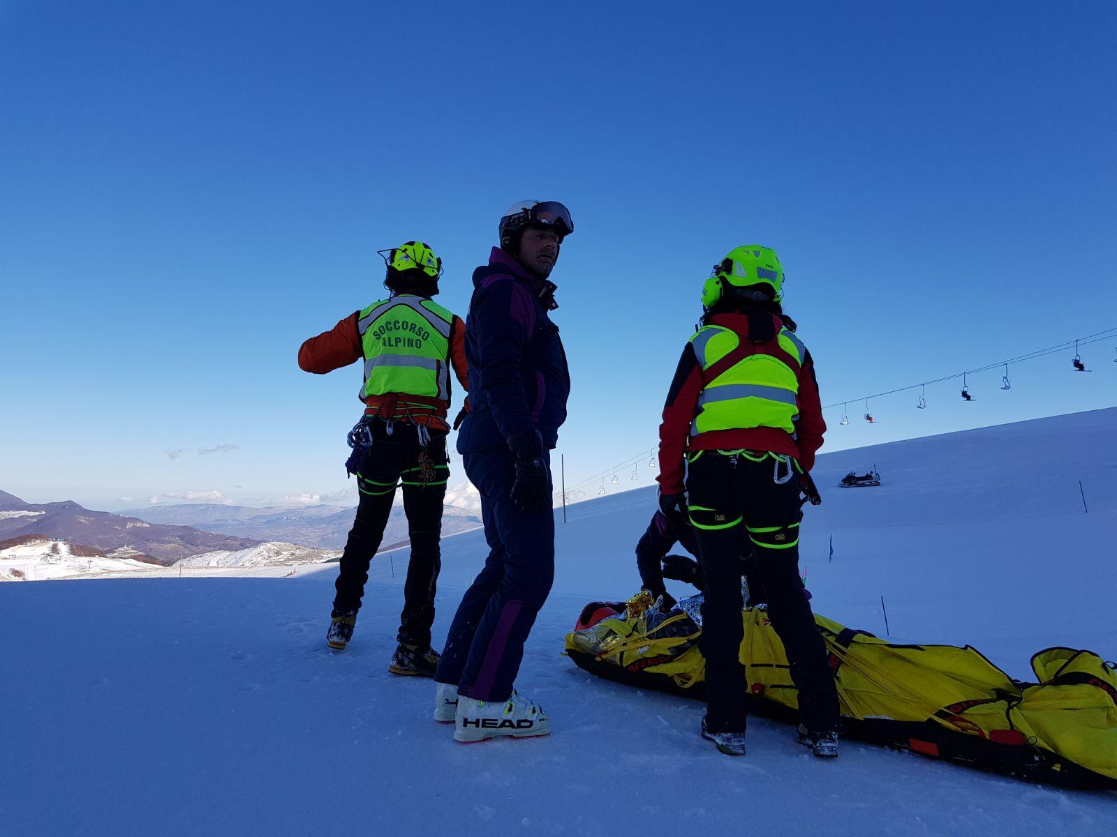Roccaraso, valanga travolge due sciatori fuoripista