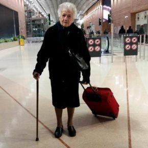 Nonna Irma,93enne parte volontaria Kenya