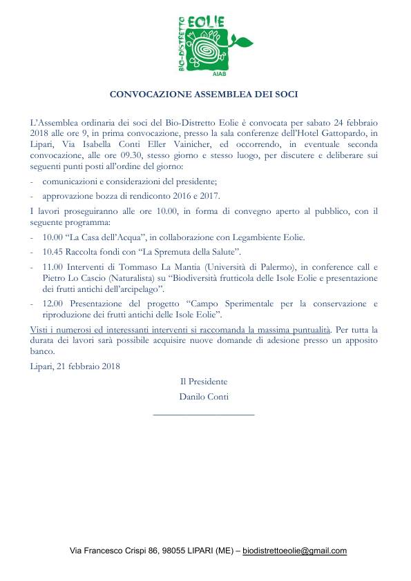 """Lipari, domani all'Hotel """"Gattopardo"""" assemblea del """"Bio Distretto"""" e saranno anche presentati i frutti antichi"""