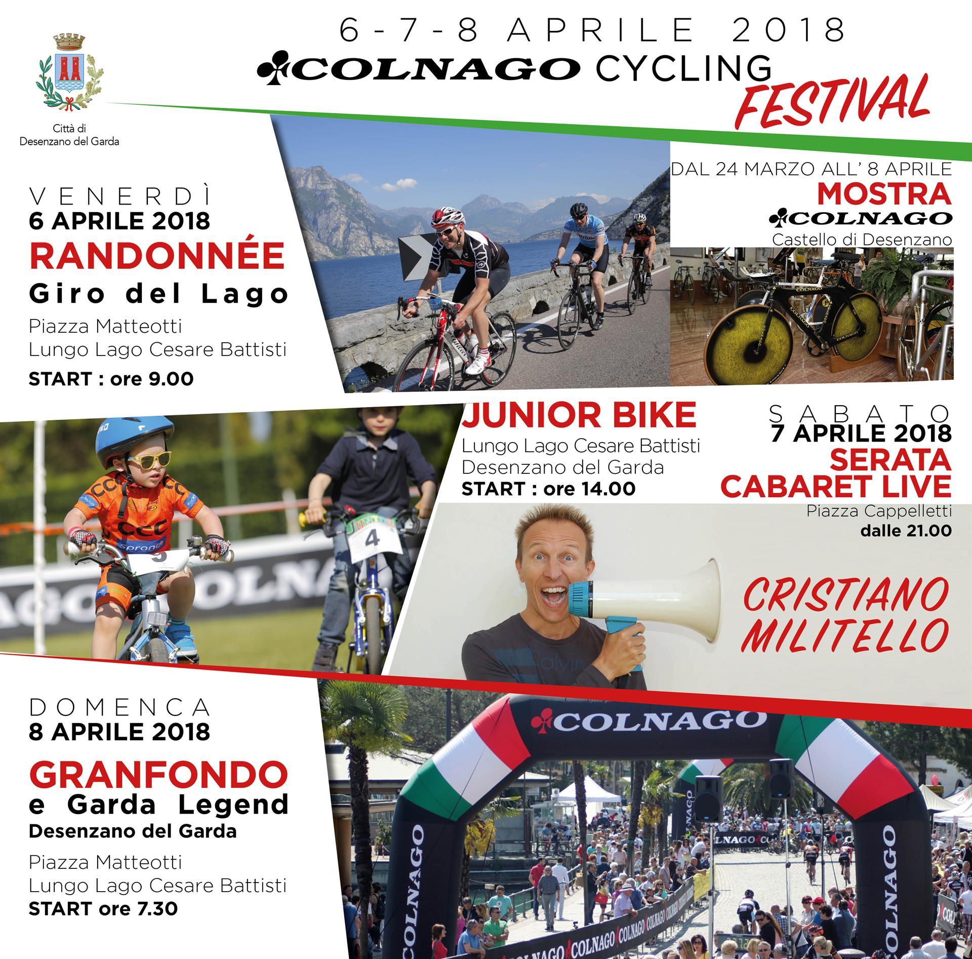 ULTIMA CORSA PER IL COLNAGO CYCLING FESTIVAL