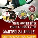 Calcio, a Brindisi stage per portieri con il grande Gianpaolo Spagnulo. Il 24 aprile presso l'impianto sportivo Alerin della Scuola Calcio Nitor