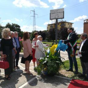 A CA' DI DAVID un parco ricorda il giornalista veronese Giuseppe Faccincani