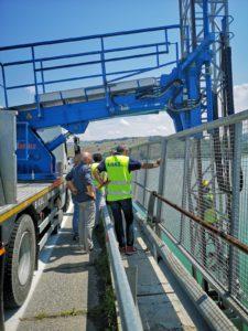 Terremoto: controlli dell'Anas sui piloni dei viadotti