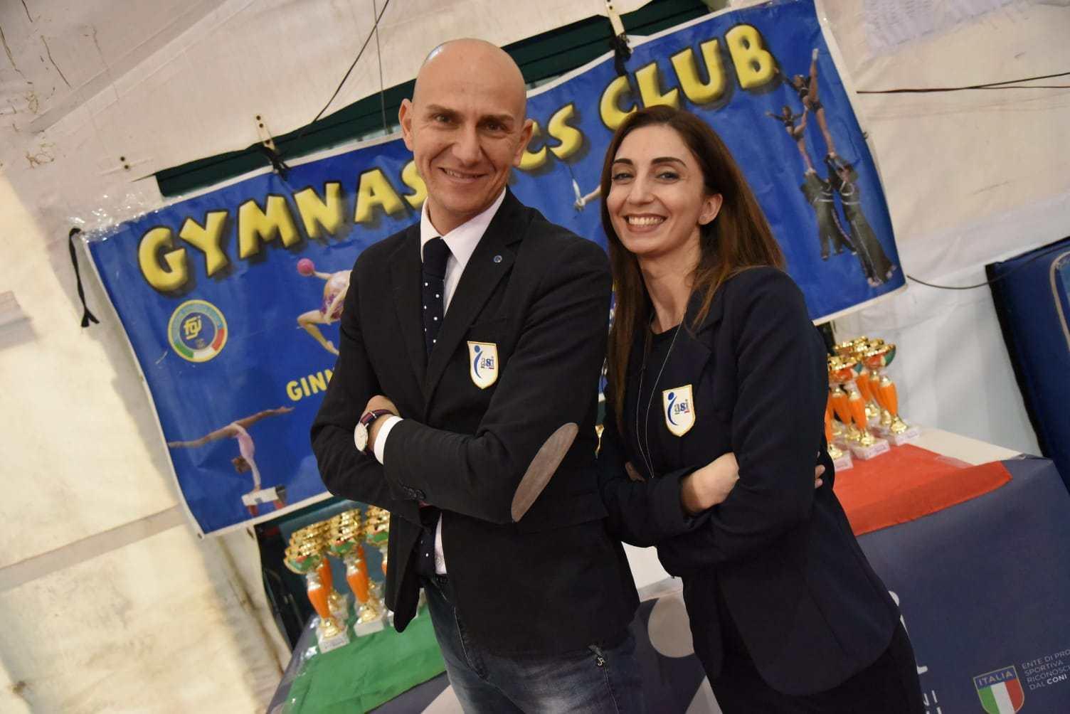 Valter Miccichè ed Ester Greco  scelti dall'ASI COME Direttore Tecnico  e Referente di Giuria REGIONALI