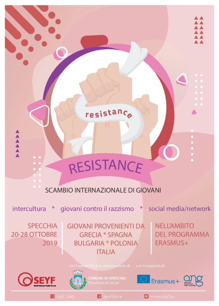 """""""Resistance"""": la meglio gioventù europea si incontra a Specchia"""