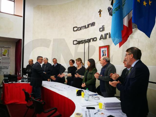 Cassano: Papasso proclamato sindaco della città