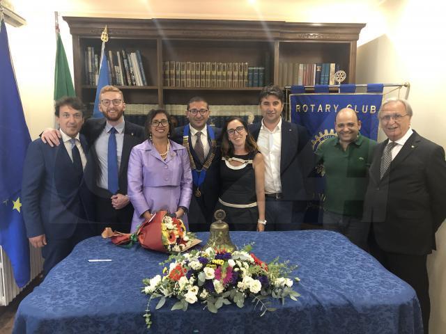 Rotary Club Vibo Valentia, Giulio Capria è il nuovo presidente