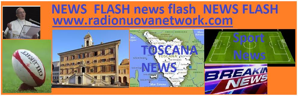 Allerta per forti precipitazioni temporalesche su quasi tutto il territorio della Toscana